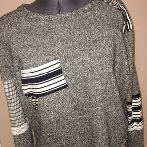 Just Like Honey Recycled Clothing Sweater Med